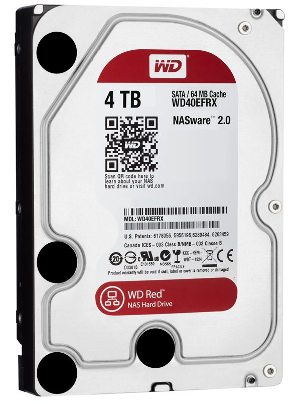 WD 4 TB RED